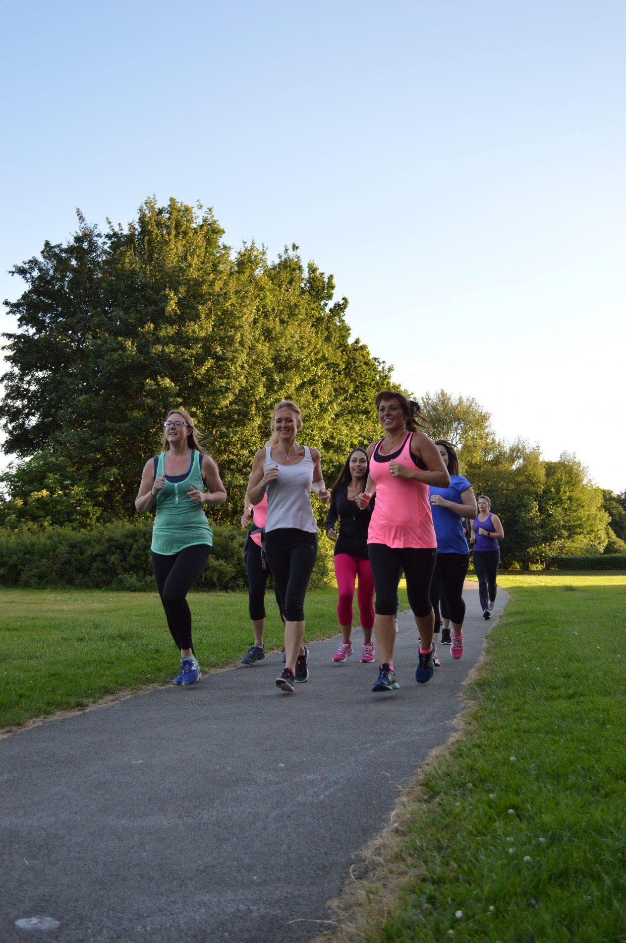 Solemother running together